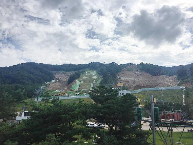 Гора для сноуборда