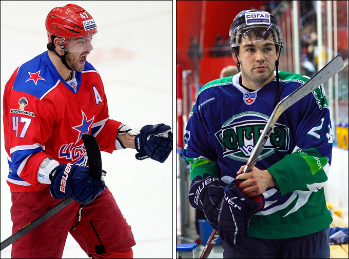 Игроки недели: Александр Радулов и Игорь Скороходов
