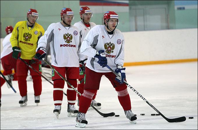 Открытая тренировка сборной России