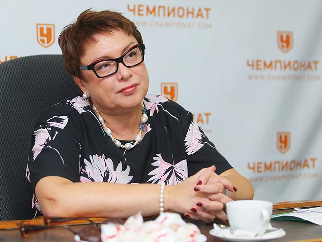 Ольга Смородская в гостях у «Чемпионата»