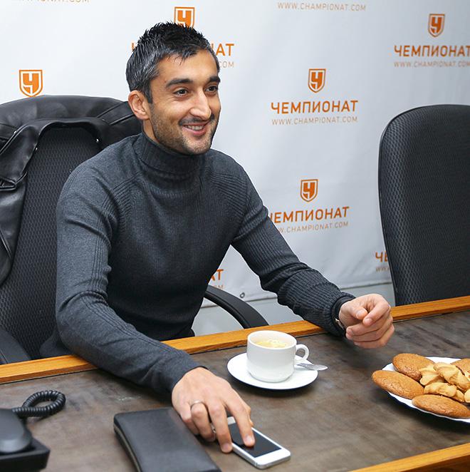 Александр Самедов в гостях у «Чемпионата»