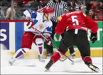 27 декабря 2011 года. Калгари. Молодежный чемпионат мира. Швейцария — Россия — 0:3