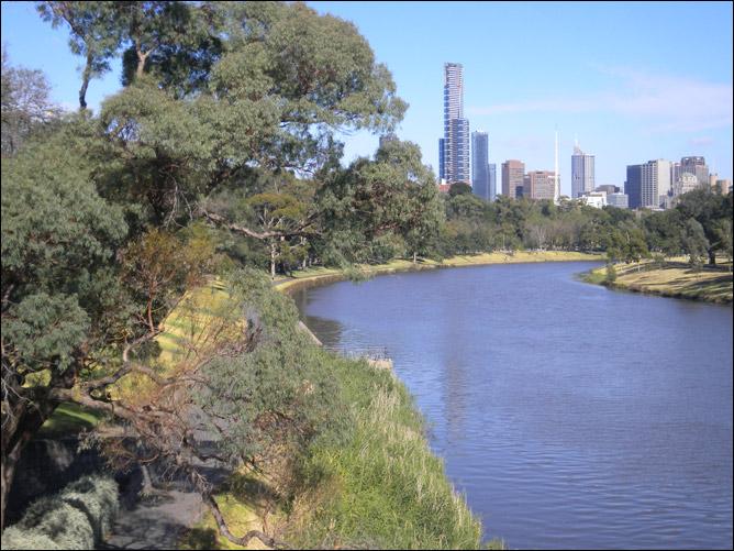 Городской парк Мельбурна