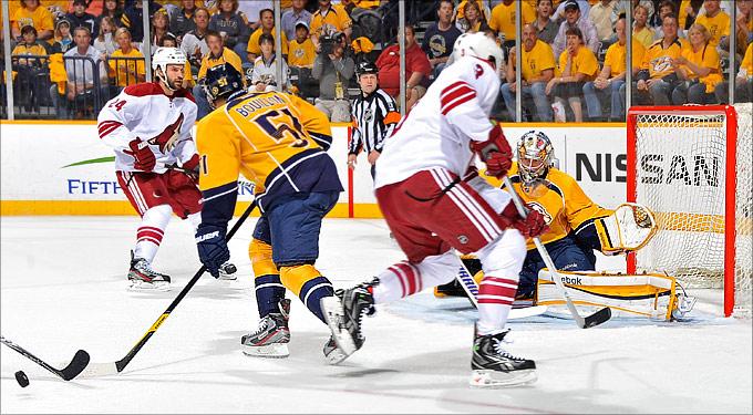 """5 мая 2012 года. Нэшвилл. Плей-офф НХЛ. 1/4 финала. """"Нэшвилл Предаторз"""" — """"Финикс Койотс"""" — 0:1"""