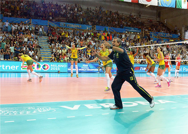 Россия – Бразилия – 1:3. Южноамериканки радуются успеху