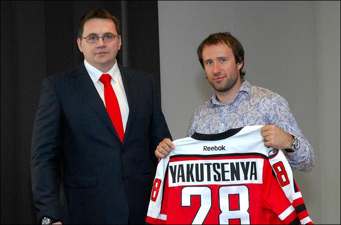 Максим Якуценя (справа) и Андрей Назаров