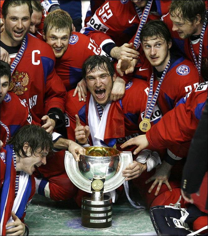 Хоккей. История чемпионатов мира. Часть 28. ЧМ-2008. Фото 11.