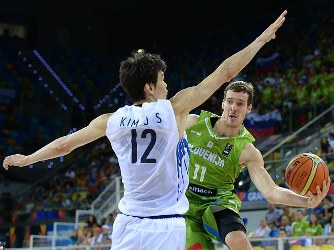 Зоран Драгич в поединке с Южной Кореей вновь стал самым полезным игроком своей команды