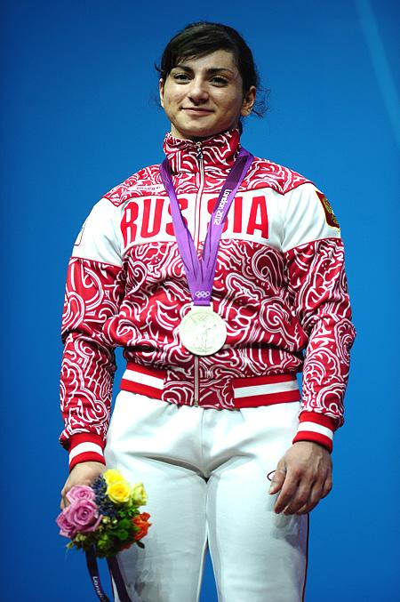 Светлана Царукаева с серебром Лондона