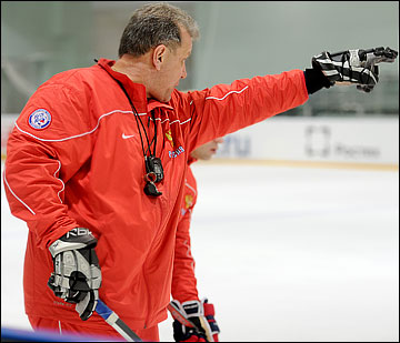 Михаил Варнаков за атакующий хоккей!