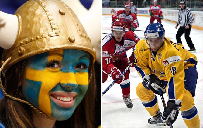 Соперник-14. Сборная Швеции. Фото 02.