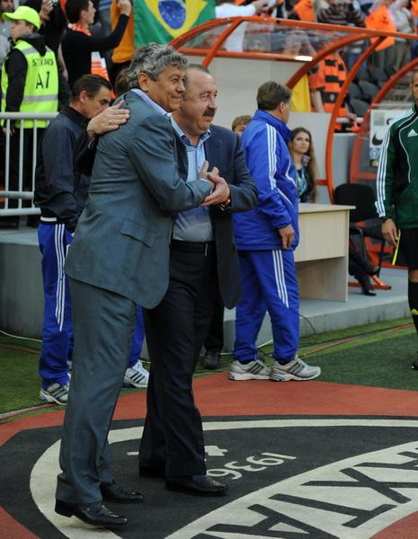 Луческу и Газзаев