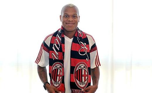 Жонатан Биабиани — в «Милане».