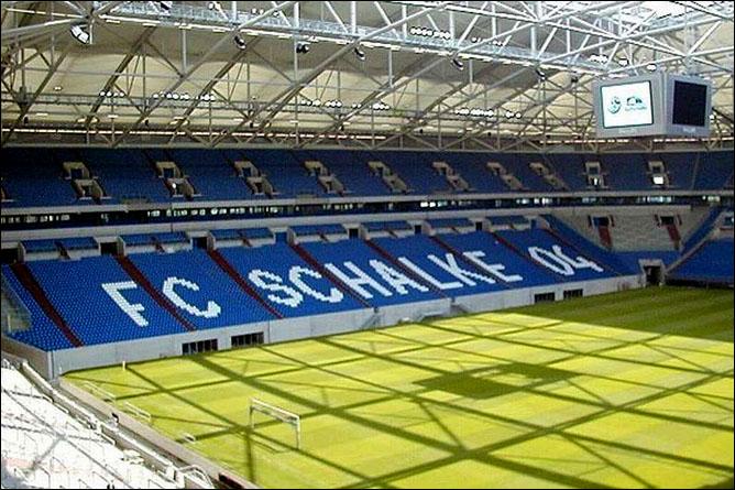 Veltins-Arena. Гельзенкирхен. Фото 01.
