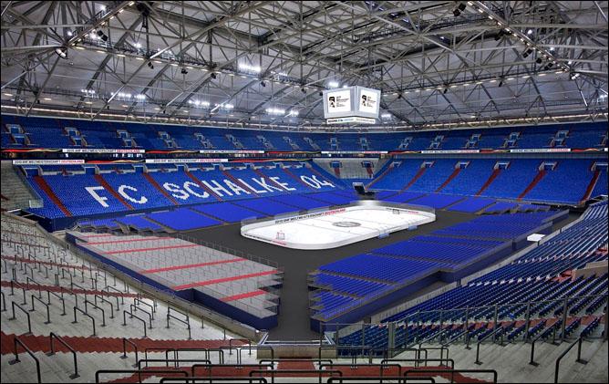 Veltins-Arena. Гельзенкирхен. Фото 02.