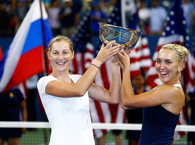 Веснина и Макарова стали чемпионками US Open в паре