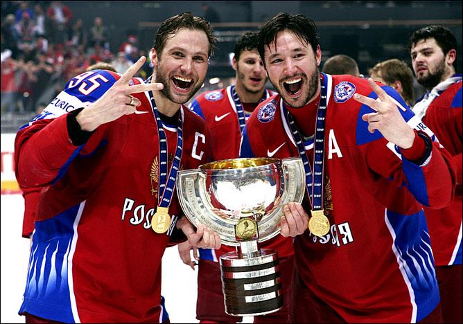 2009. Чемпионат мира. Финал. Россия - Канада - 2:1. Фото 01.