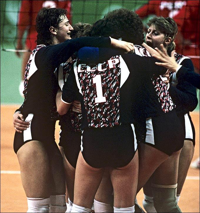 В 1988 году женская сборная СССР стала олимпийским чемпионом