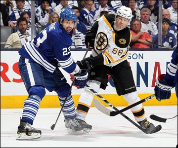 """6 мая 2013 года. Торонто. Плей-офф НХЛ. 1/8 финала. Матч № 3. """"Торонто"""" — """"Бостон"""" — 2:5. Нестареющий Яромир Ягр"""