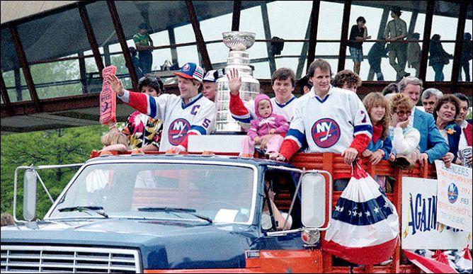 22 мая 1983 года. Нью-Йорк. Праздничный парад обладателей Кубка Стэнли.