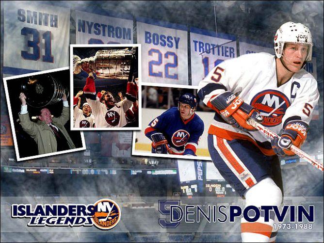 """Живая легенда """"Нью-Йорк Айлендерс"""" на все времена."""