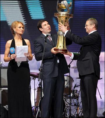 Церемония закрытия сезона КХЛ 2011/12 года