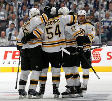 """6 мая 2013 года. Торонто. Плей-офф НХЛ. 1/8 финала. Матч № 3. """"Торонто"""" — """"Бостон"""" — 2:5"""