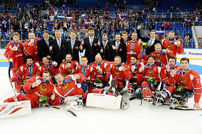 Сборная России по следж-хоккею – серебрянный призёр Паралимпиады в Сочи