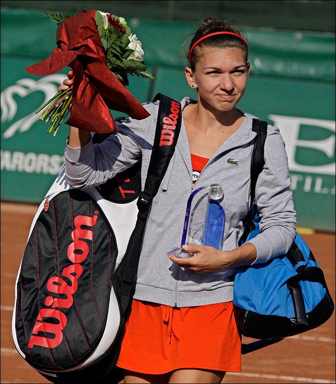 Симона Халеп выиграла третий турнир WTA подряд