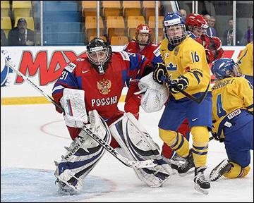 Надежда Александрова против сборной Швеции