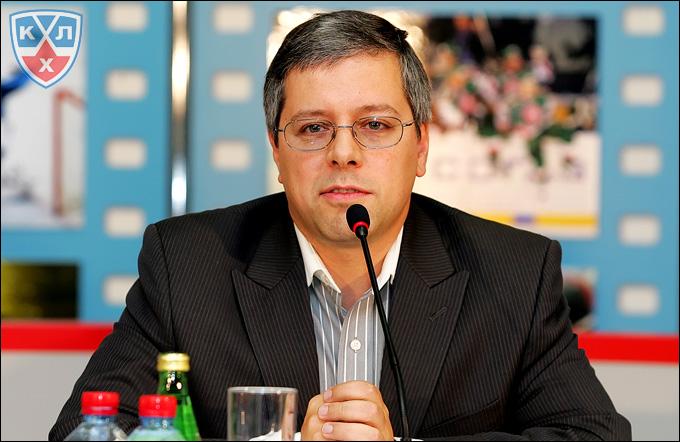 Управляющий директор МХЛ Дмитрий Ефимов