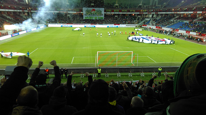 Таким видится футбол из фанатского сектора «Торпедо»