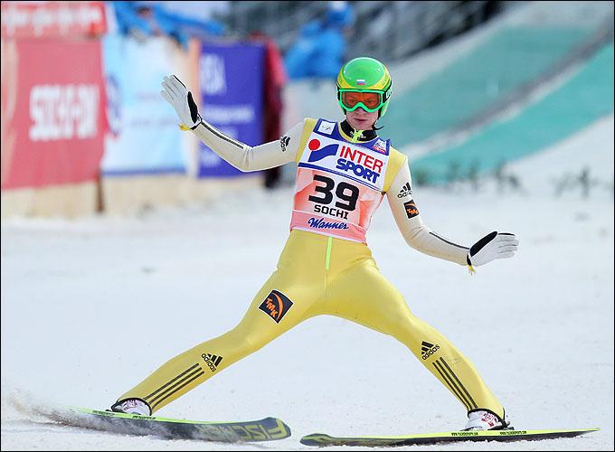 Денис Корнилов готовится выступить на Олимпиаде в Сочи