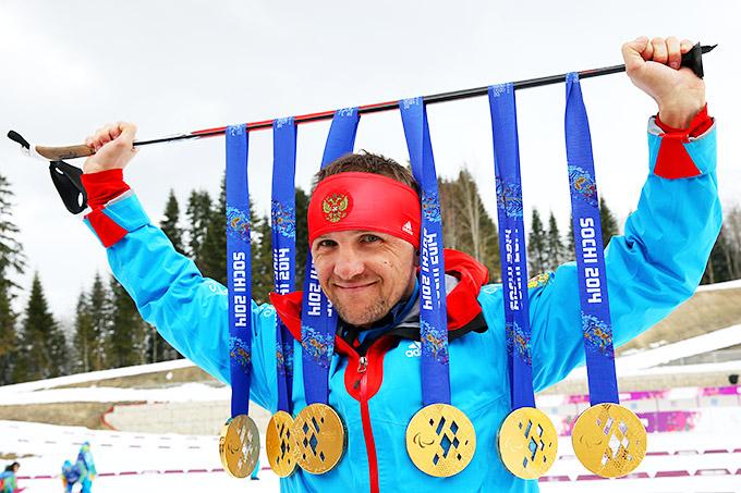 Шестикратный чемпион Паралимпиады в Сочи Роман Петушков