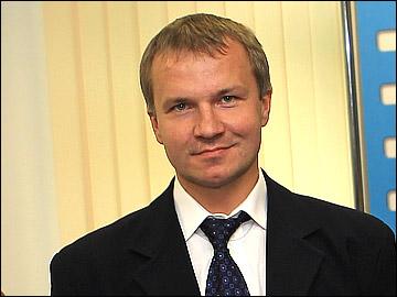 "Директор ХК ""Трактор"" Владимир Кречин"
