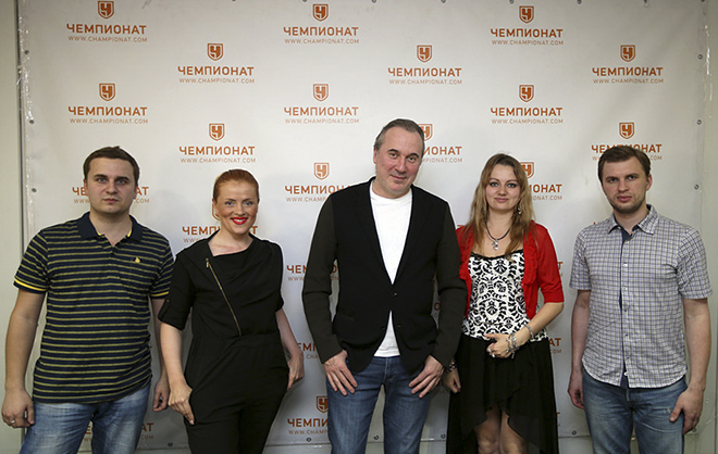 Юрий Николаев в редакции «Чемпионата»