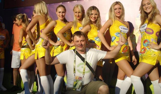 Олег Лысенко в приятной компании