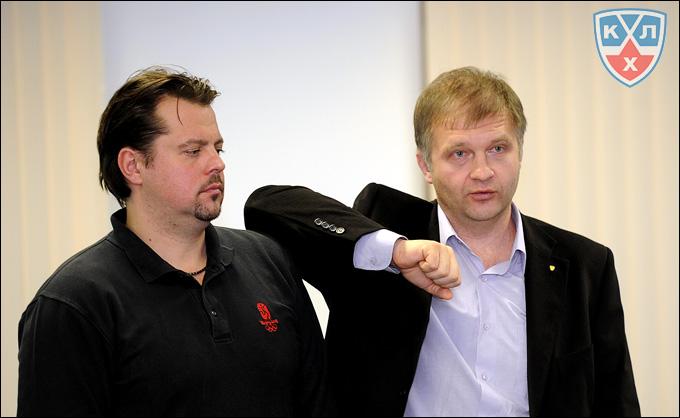 Вячеслав Буланов и Александр Поляков