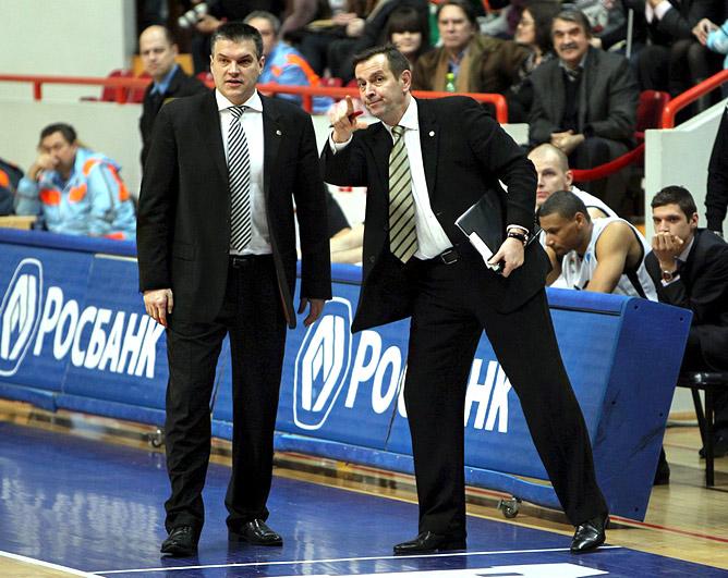 Евгений Пашутин и Иван Еремич