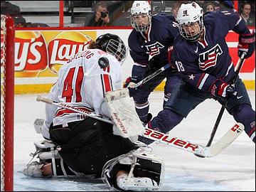 Американки не оставили иллюзий сборной Швейцарии