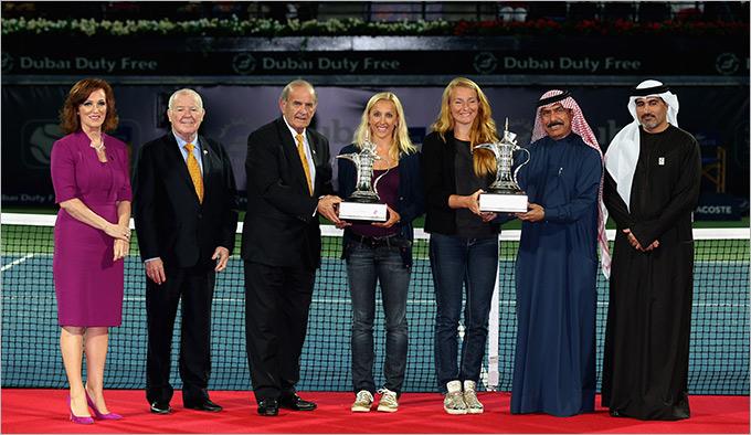 Кудрявцева и Родионова стали сильнейшими в Дубае