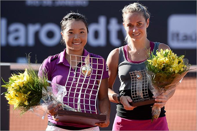Нара завоевала свой первый титул