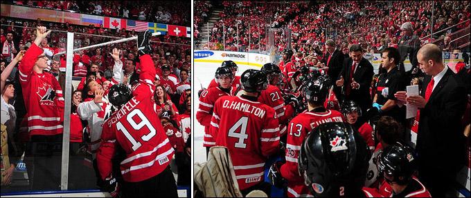 Сборная Канады — соперник россиян в полуфинале молодежного чемпионата мира