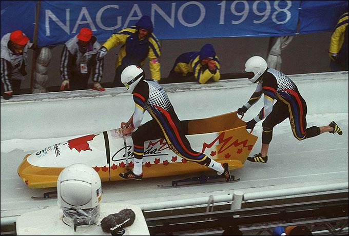 Тот самый золотой Олимпийский разгон Людерса в Нагано
