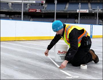 Стадионная серия. Подготовка Yankee Stadium