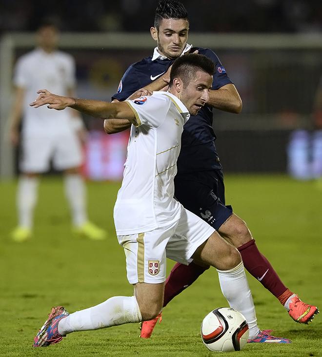 В матче с Францией Зоран Тошич рвал и метал