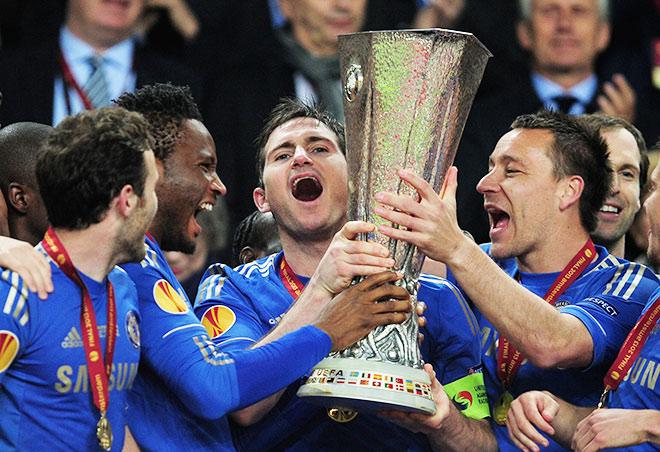 Выигрыш Лиги Европы