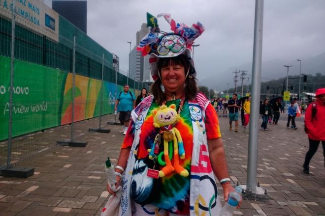 Болельщица в Рио