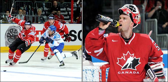 08.05.2010. ЧМ-2010. Канада - Италия - 5:1. Фото 02.