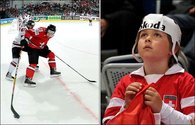 08.05.2010. ЧМ-2010. Швейцария - Латвия - 3:1. Фото 07.